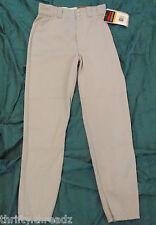 1534 Nwt ~ Mens Wilson Wildri Baseball/Softball Pants Gray Greys, Size S Small
