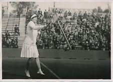 TENNIS c. 1930 - Miss Helen Wills Remporte le Championnat de France - PRM 106