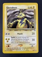 ELECTABUZZ - Neo Genesis Set - 33/111  - Pokemon Card - Unlimited - NM PSA Ready