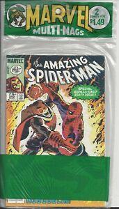 Marvel Multi Mags - 2 pack (1983) Spiderman 250 - Rare Canadian Variants