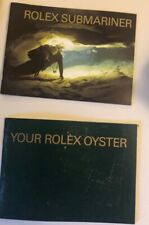 Rolex Libretto Submariner + Libretto Your Rolex Oyster Corredo Original Eng 2005