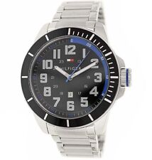 Tommy Hilfiger Men's Silver Stainless Steel Watch 41mm 1791074