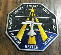 NASA  SPACE SHUTTLE FLIGHT CREW PATCH STS-121 Reiter Fossum Nowark Kelly