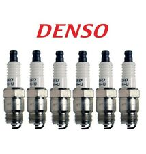 Set of 6 Gap 0.035 Spark Plugs Denso For Buick Ford GMC Pontiac Plymouth Chevy