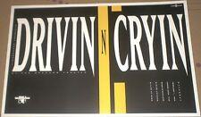 Drivin' N' Cryin' MEGA-RARE 1992 LIVE CONCERT GIG POSTER Kevn Kinney MINT SHAPE