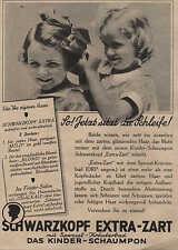 """BERLIN, SCHWARZKOPF-EXTRA-ZART, Werbung / Anzeige 1936, """"mit Spezial-Kräuterbad"""""""