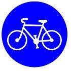 Carretera signos (Bicycle Lane) - ORIGINAL Imán de NEVERA - NUEVO