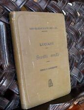 Luciano SCRITTI SCELTI Testo e commento 1904 Le Monnier