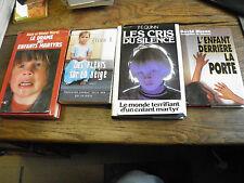 lot de 4 livres sur les enfants martyrs enfant martyr - morel , Bisson,   quinn