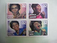 United States Scott  3216-19 Gospel Singers block