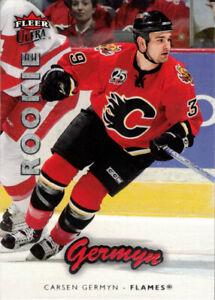2006-07 Ultra #203 Carsen Germyn RC Rookie Card Calgary Flames
