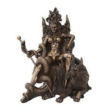 """Hel Ruler of Realm of the Dead Loki Daughter Norse Goddess Viking Figurine 8.5""""H"""