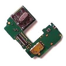 100% Original Nokia N85 Sim Card Holder + Ranura para tarjeta de Memoria MicroSD Lector de PCB Board