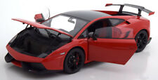 LAMBORGHINI GALLARDO LP 570 SUPERTROFEO STRADALE 2011 RED BLACK AUTOART 1/18