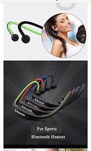 bluetooth headset Kopfhörer Für Samsung iPhone und Für Alle Handys  Farbe Rot
