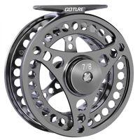 CNC Machined Fly Fishing Reel 3/4 5/6 7/8 9/10WT Large Arbor Aluminum Reel Bass