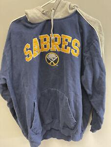 NHL Buffalo Sabres 3Four Sportswear Hoodie Adult Size XL Hockey