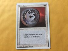 Misprint Disenchant Revised LIGHT PRINTED BACK Error MTG Magic Card