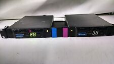 Lot Of 2 Vega R-2020 Uhf Receivers With Mount No Power Cord