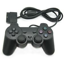 Controller Gamepad wired Joypad mit Dual Vibration für Sony PS2 Playstation 2 DE