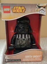Lego Star Wars Darth Vader alarm clock new in box movable digital