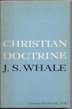 Christian Doctrine by J. S. Whale (1964)  Cambridge.  Text is Marked.