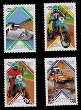 Lesotho   SCOTT# 567-570 MNH   ROOF OF AFRICA RALLY