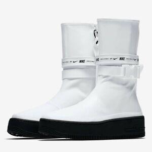 Womens Nike AF1 Sage HI AQ2771-100 sz 5.5 white air force 1 dunk sb rain boots