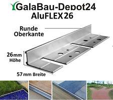AluFLEX19 200 cm Randbefestigung Pflasterkante Randbegrenzung Aluminiumprofil