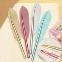 Lovely Feather Gel Pen Novelty Cute Pen School Stationary Office Supplies Gift