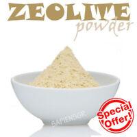 90 gr(3.5oz.)ZEOLITE POWDER PURE NATURAL DETOXIFIER MINERAL MICRONIZ. FOOD GRADE