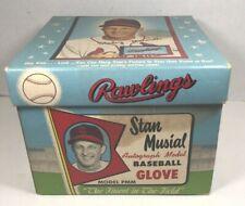 Vintage Sports Memorabilia, Stan Musial Baseball Glove Box, Rawlings, Photo