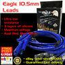 EAGLE 10.5mm Ignition Spark Plug Leads Fits Ford Windsor V8 Around V/Covers