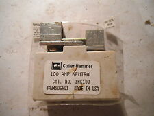 CUTLER HAMMER 100 AMP NEUTRAL INK100 , 4A3490501 - USED