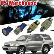 14-pc Aqua Ice Blue LED Interior Light Package Kit For 1996-2002 Toyota 4Runner