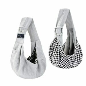Cuby Dog and Cat Sling Carrier Hands Free Reversible Tote Pet Outdoor Travel