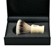 FS Flate Shape Extra Density Silvertip Badger Hair Shaving Brush Chubby Handle