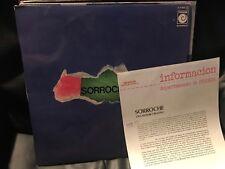 "SORROCHE - SAME 12"" LP - NOVOLA 78 PROMO + INSERT - FLAMENCO"