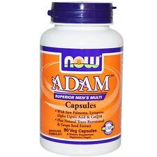 Now Foods Adam Superior Men's Multi 90 Veg Caps Saw Palmetto Lycopene Coq10