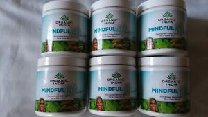 Lot of 6 Organic India Mindful Lift With Fermented Herbs 3.17oz 30 Servings each