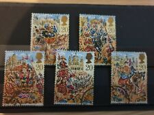 Great Britain 1989 Lord Mayor's Show, London. 5 stamp set used