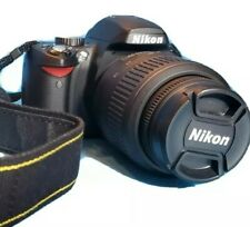 Nikon D60 Digital Camera w/ Case, Lens, and Extras. FREE SHIPPING to USA!