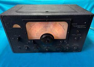 "Radiovision ""Commander "" Vintage HF Communications Receiver"