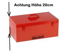 Kettensäge Motorsäge Koffer von DOLMAR Metallkoffer m. ausklappbarem Metallgriff