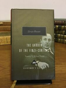 Giorgio Bassani The Garden Of The Finzi-Continis (Everyman's Library 2005)