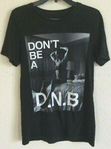 Rhonda Rousey Represent Don't Be A DNB Campaign Size Womens XL T-shirt Black