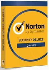 Symantec Norton Security Deluxe 5 Geräte Laufzeit 1-3 Jahre wählbar ESD Lizenz
