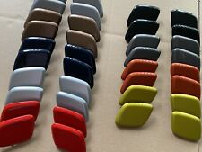 Genuine Ford focus mk3 Headlight Washer Covers black white silver red magnetic