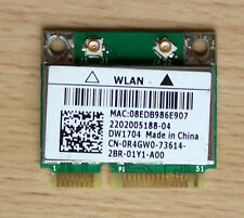 Dell DW1704 Model:BCM943142HM Mini- PCIe 802.11b/g/n