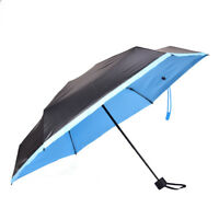 Mini5 Folding Compact Super Windproof Anti-UV Rain Sun Travel Umbrella Portable#